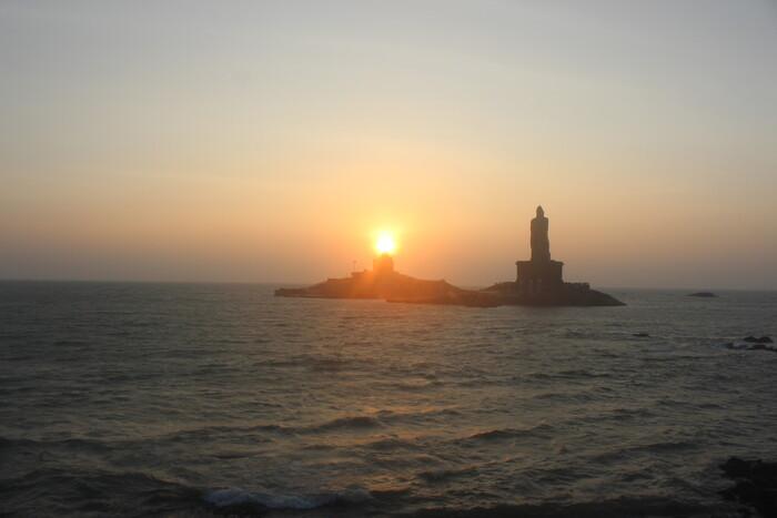На край Индии в свой День Рождения. Каньякумари