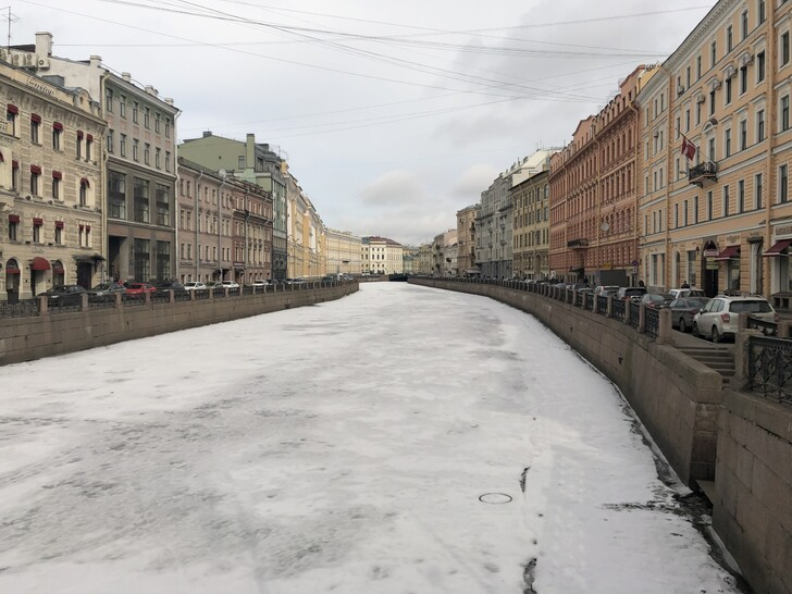 Санкт-Петербург в марте