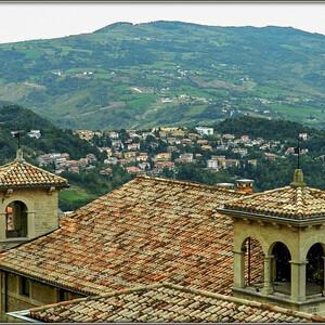 Маленькая страна Сан-Марино.