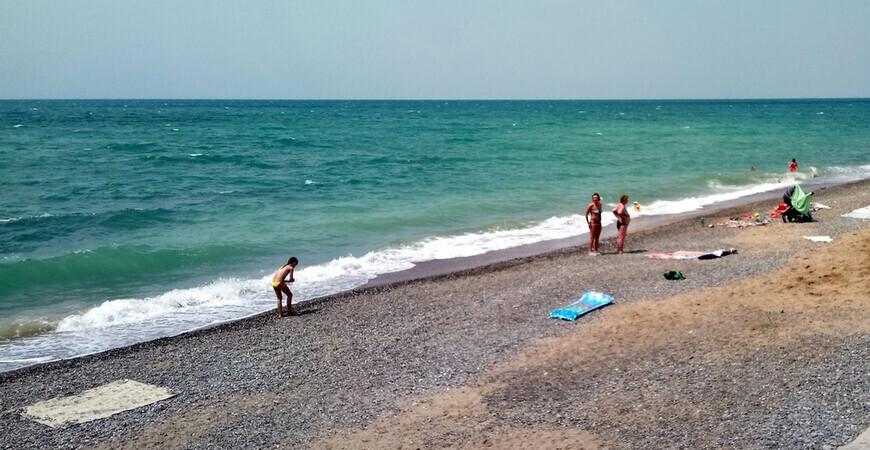 Пляж кооператива «Якорь»