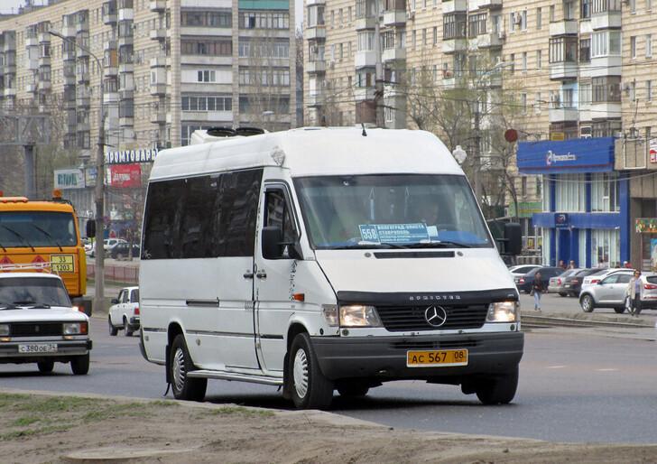 Автобус Волгоград — Ставрополь