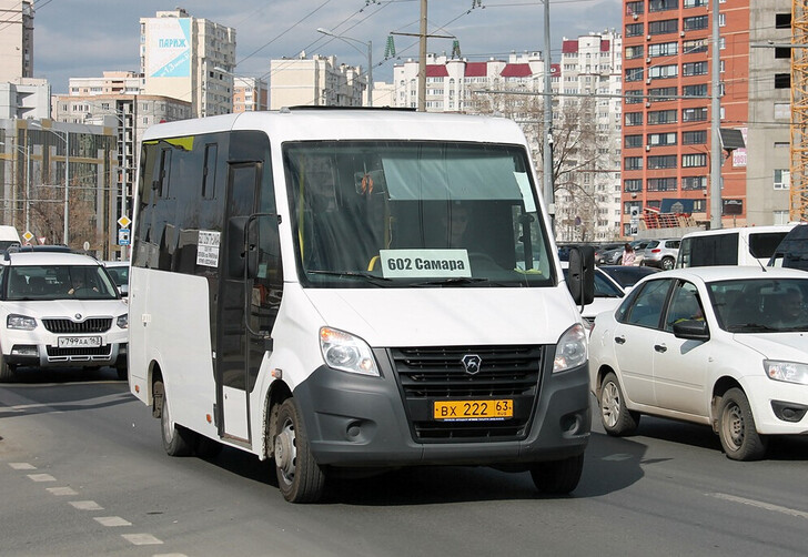 Автобус Тольятти — Самара