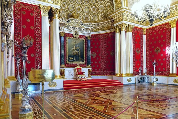 Петровский зал в Эрмитаже