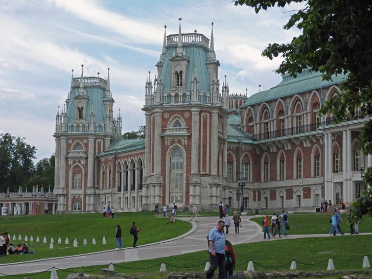 Большой дворец в «Царицыно»