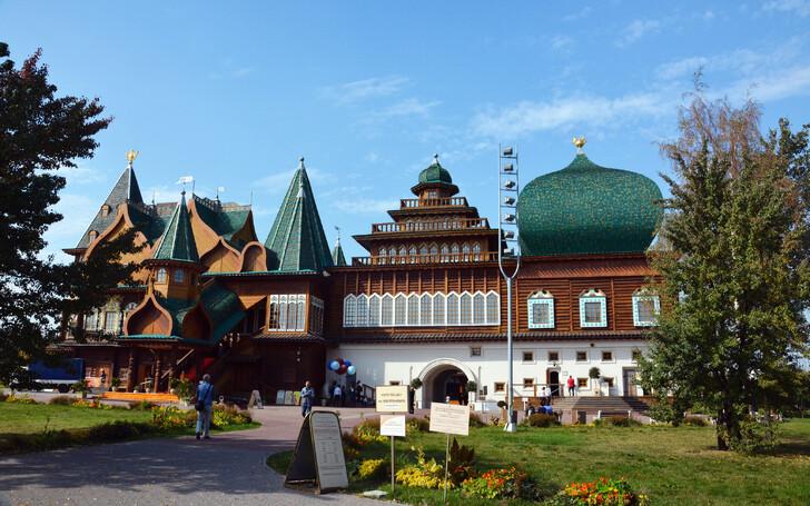 Дворец царя Алексея Михайловича в заповеднике «Коломенское»