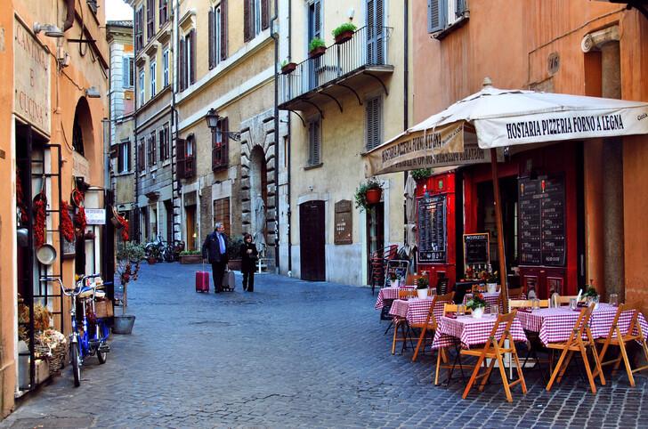 Колоритные улочки Рима