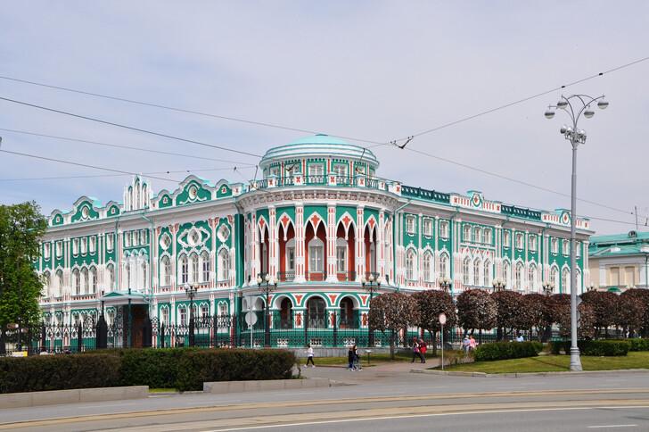 Дом Н. И. Севастьянова