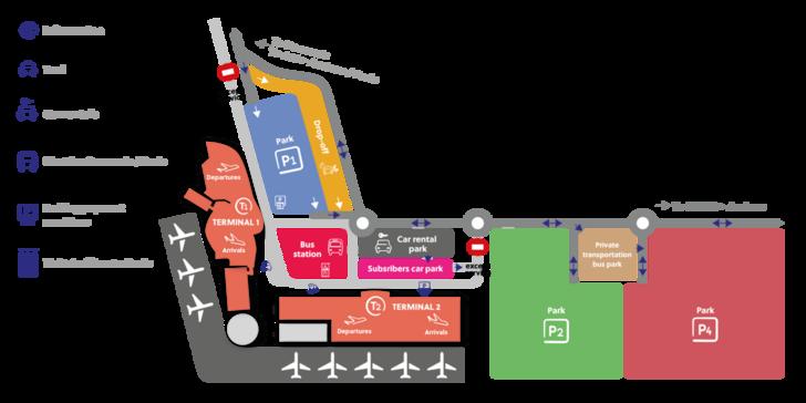 Как добраться из аэропорта Бове до Парижа