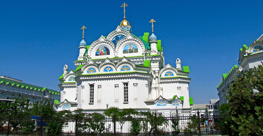 Церковь Святой Великомученицы Екатерины <br/> в Феодосии