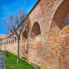 Уникальная крепостная стена