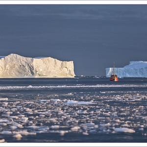 Гренландия: залив Диско