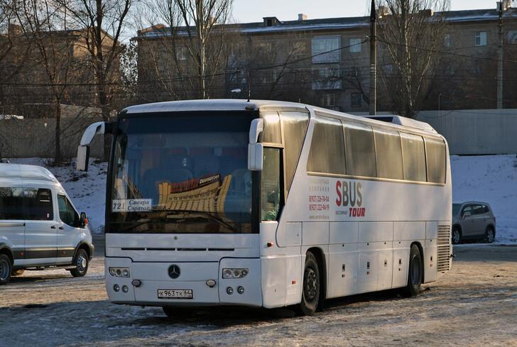 Автобус Саратов — Самара