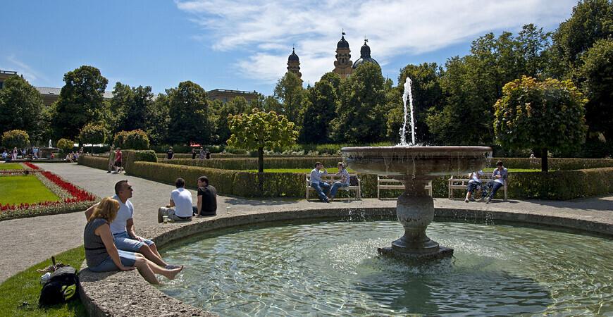 Парк Хофгартен в Мюнхене