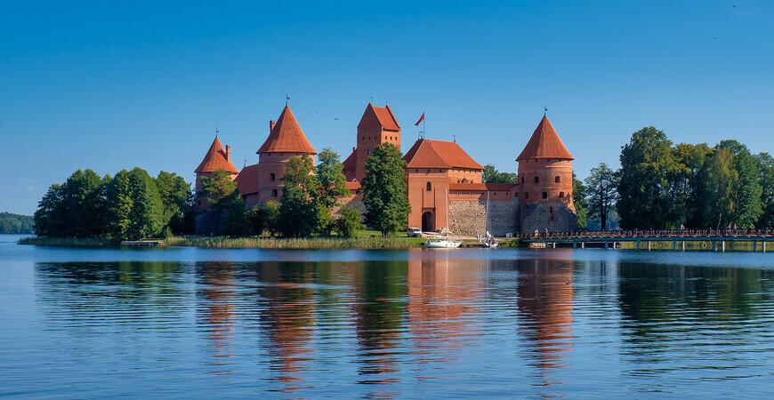 Тракайский замок в Литве (Trakai Island Castle)