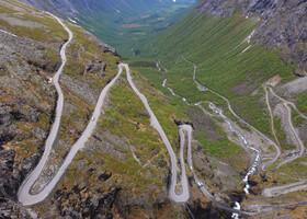 По Норвегии на авто: Тролльстиген