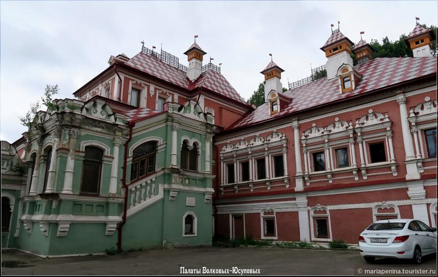 Недоступный дворец Волковых-Юсуповых в Москве