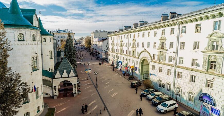 Большая Покровская улица в Нижнем Новгороде