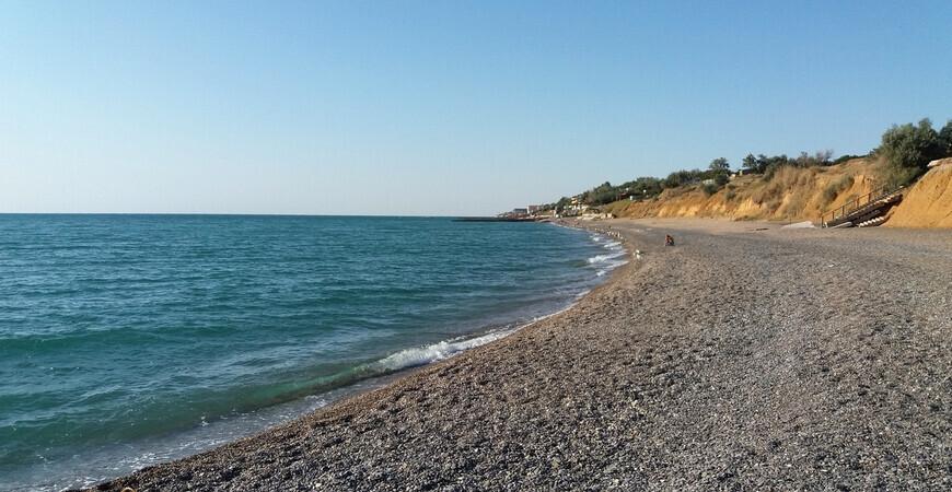 Дикие пляжи Николаевки