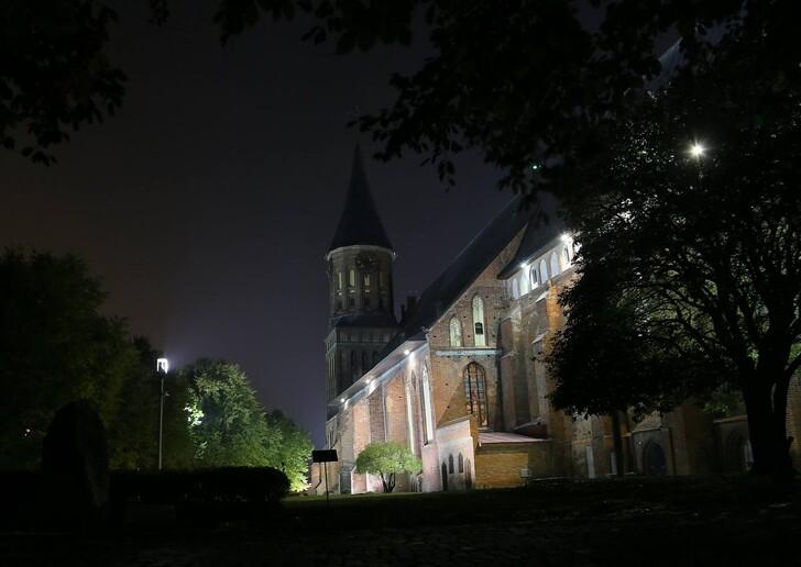 Кафедральный собор вечером