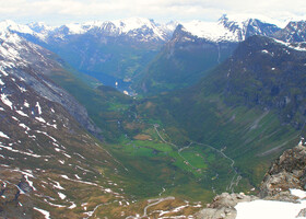 По Норвегии на авто: Дорога Орлов