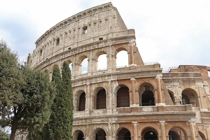 Величественный Колизей