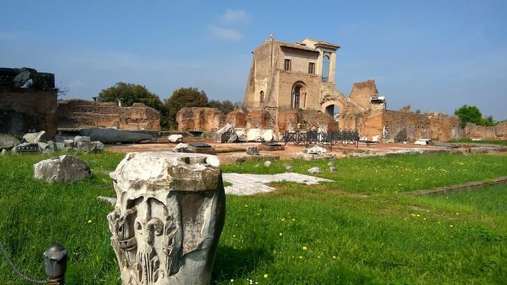 Руины Палатинского холма
