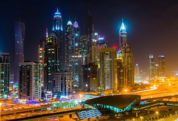 Куда сходить вечером в Дубае