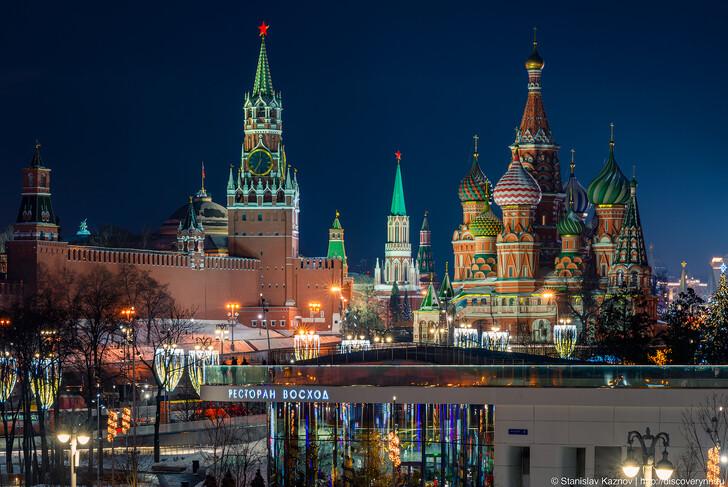 Москва: вид зимой