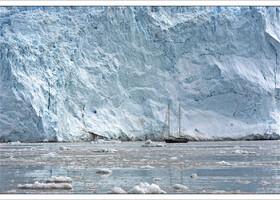 Гренландия: ледник Эки