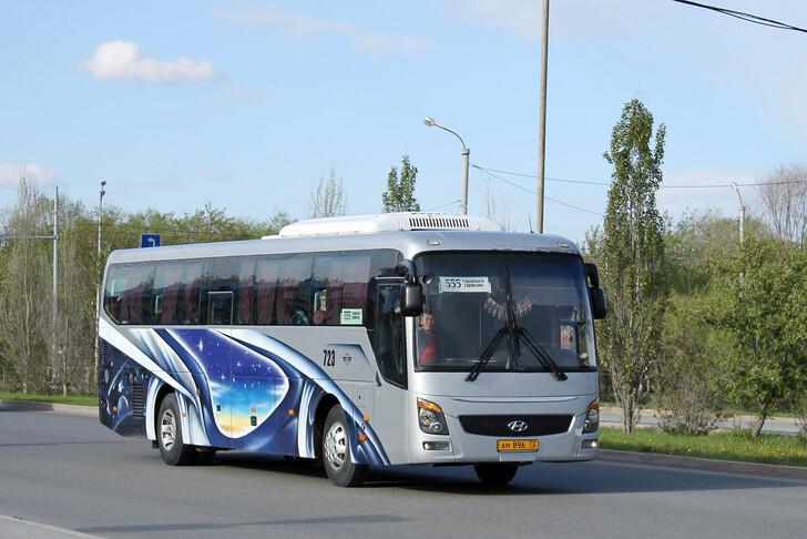 Автобус Тюмень — Тобольск