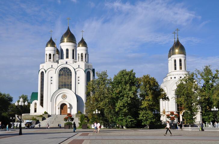 Храмовый комплекс на площади Победы