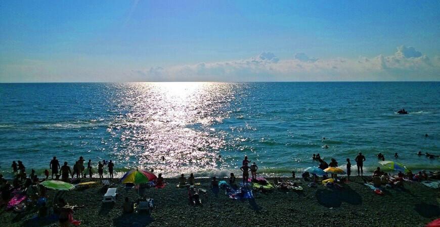 Центральный пляж Кобулети
