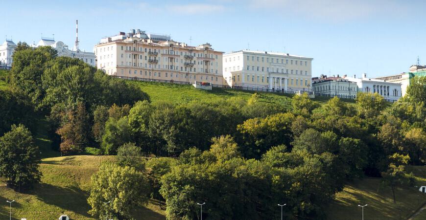Александровский сад в Нижнем Новгороде