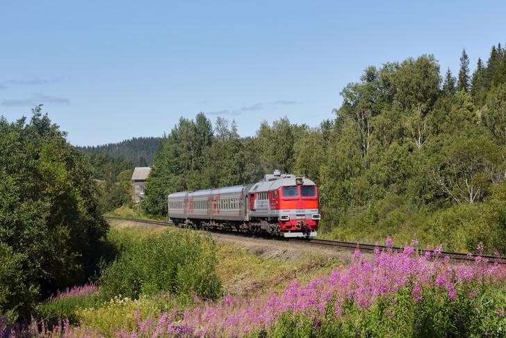Поезд Петрозаводск — Сортавала