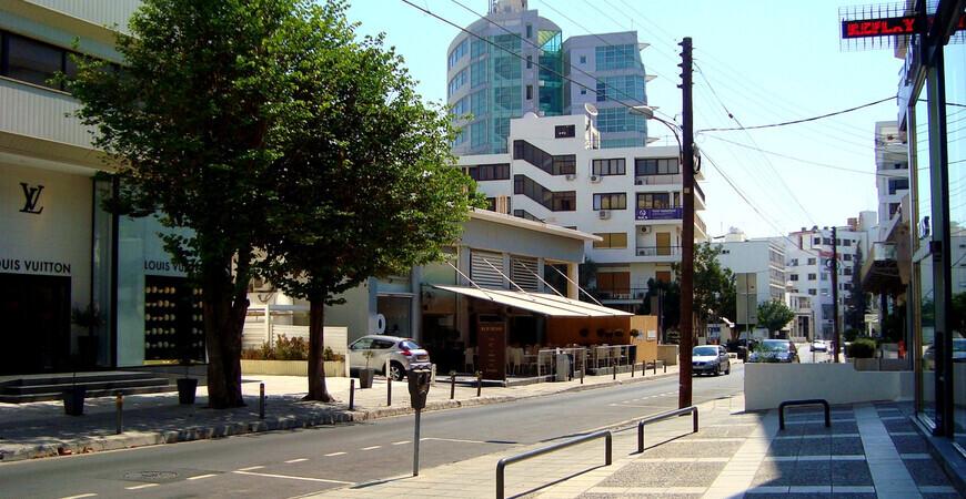 Улица Стасикратус в Никосии