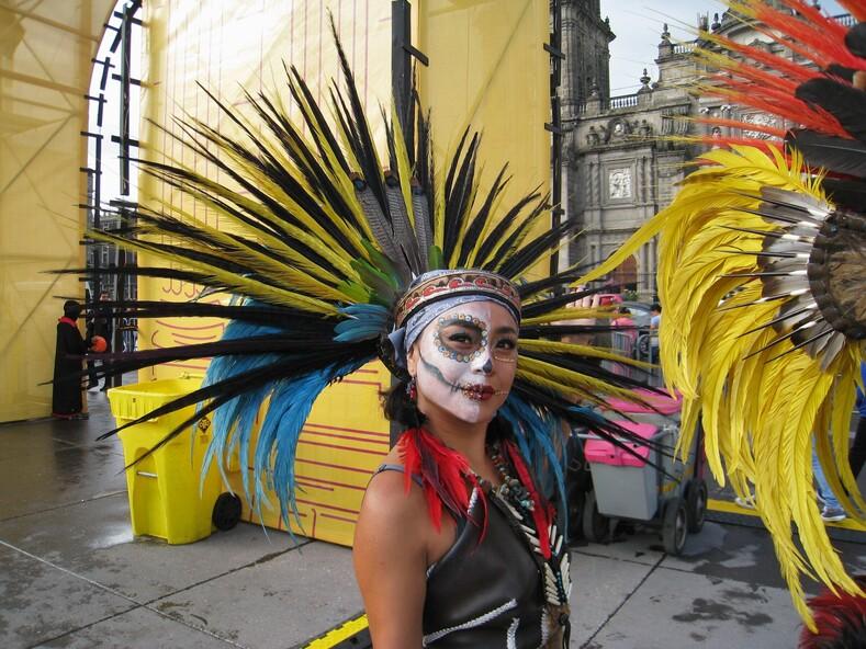 Ацтекская принцесса, Мехико.