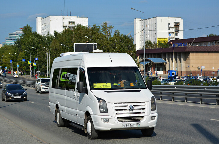 Автобус Тюмень — Ханты-Мансийск