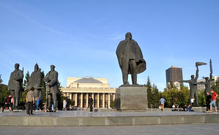 Плошадь Ленина