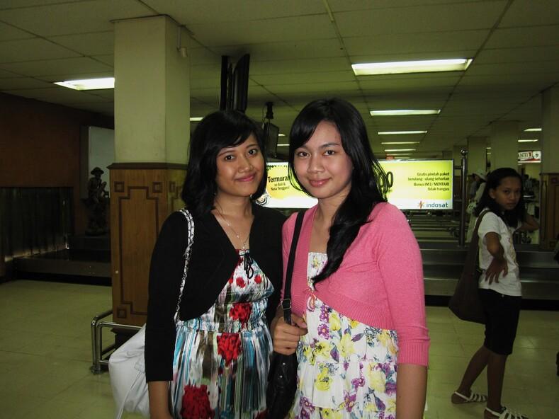 Индонезийские девушки.