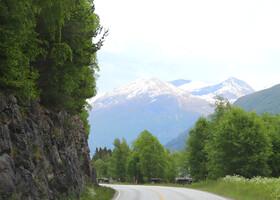 По Норвегии на авто: дорога до Олдена