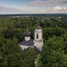 Святогорский монастырь в поселке Пушкинские Горы