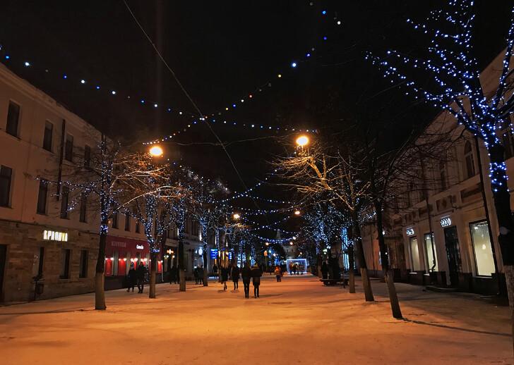 Пешеходная улица Кирова