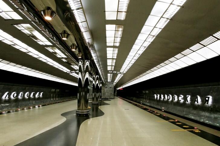 Станция метрополитена «Чкаловская»