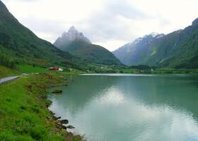 По Норвегии на авто: дорога до Каупангера