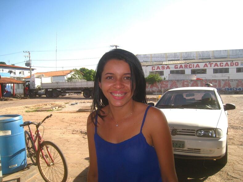 Бразильская девушка.