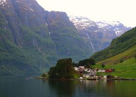 По Норвегии на авто: Согнефьорд и Нерёйфьорд