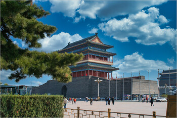 В одном из районов Пекина объявлен режим военного времени из-за вспышки коронавируса