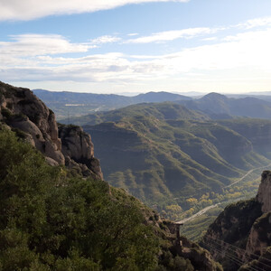 Путешествие в восхитительный монастырь Монтсеррат