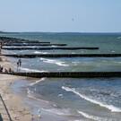 Центральный пляж Зеленоградска