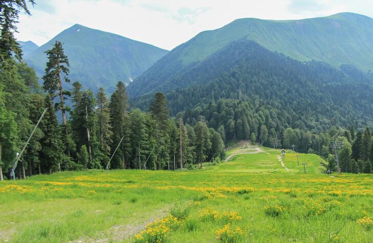 По горным маршрутам Сочи надежнее гулять с проводником
